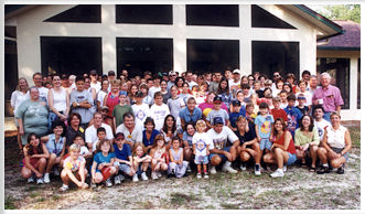 Group photo of campers