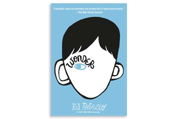 "Cover of the book ""wonder"""